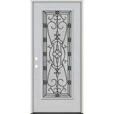 Full Lite Fiberglass Prehung Door Unit #4075