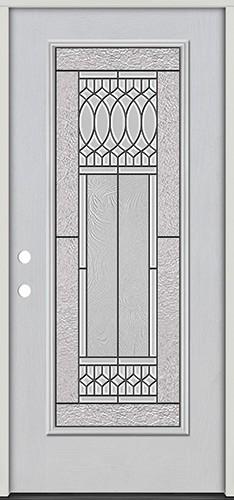 Full Lite Fiberglass Prehung Door Unit #4079