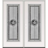 Texas Star Full Lite Steel Prehung Double Door Unit #5038