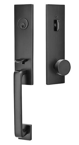 Iron Door Lockset #3707