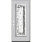 Full Lite Fiberglass Prehung Door Unit #292