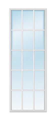 15-Lite Glass Insert