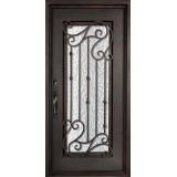 "40"" x 97"" Affinity Prehung Iron Door Unit"