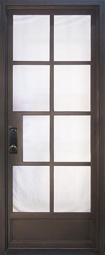 "40"" x 97"" Radiance Prehung Iron Door Unit"
