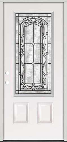 3/4 Lite Steel Prehung Door Unit #272