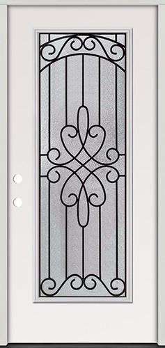 Full Lite Steel Prehung Door Unit #299